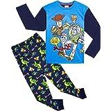 Disney Toy Story 4 Pijama Niño, Pijamas Niños Manga Larga con Personajes Buzz Lightyear Woody y Forky, Ropa Niño de Dormir 10