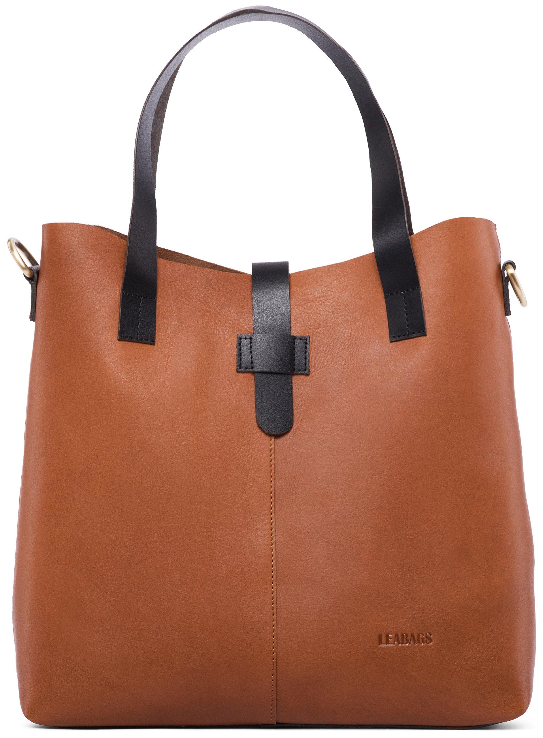 Perth Leder Handtasche von LEABAGS | TOP Qualität