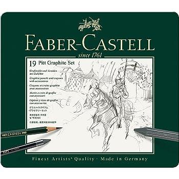 2H Bleistift CASTELL 9000 Inhalt 8B 12er Art Set Faber-Castell 119065