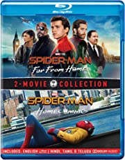2 Movies Collection: Spider-Man: Far From Home + Spider-Man: Homecoming (2-Disc)