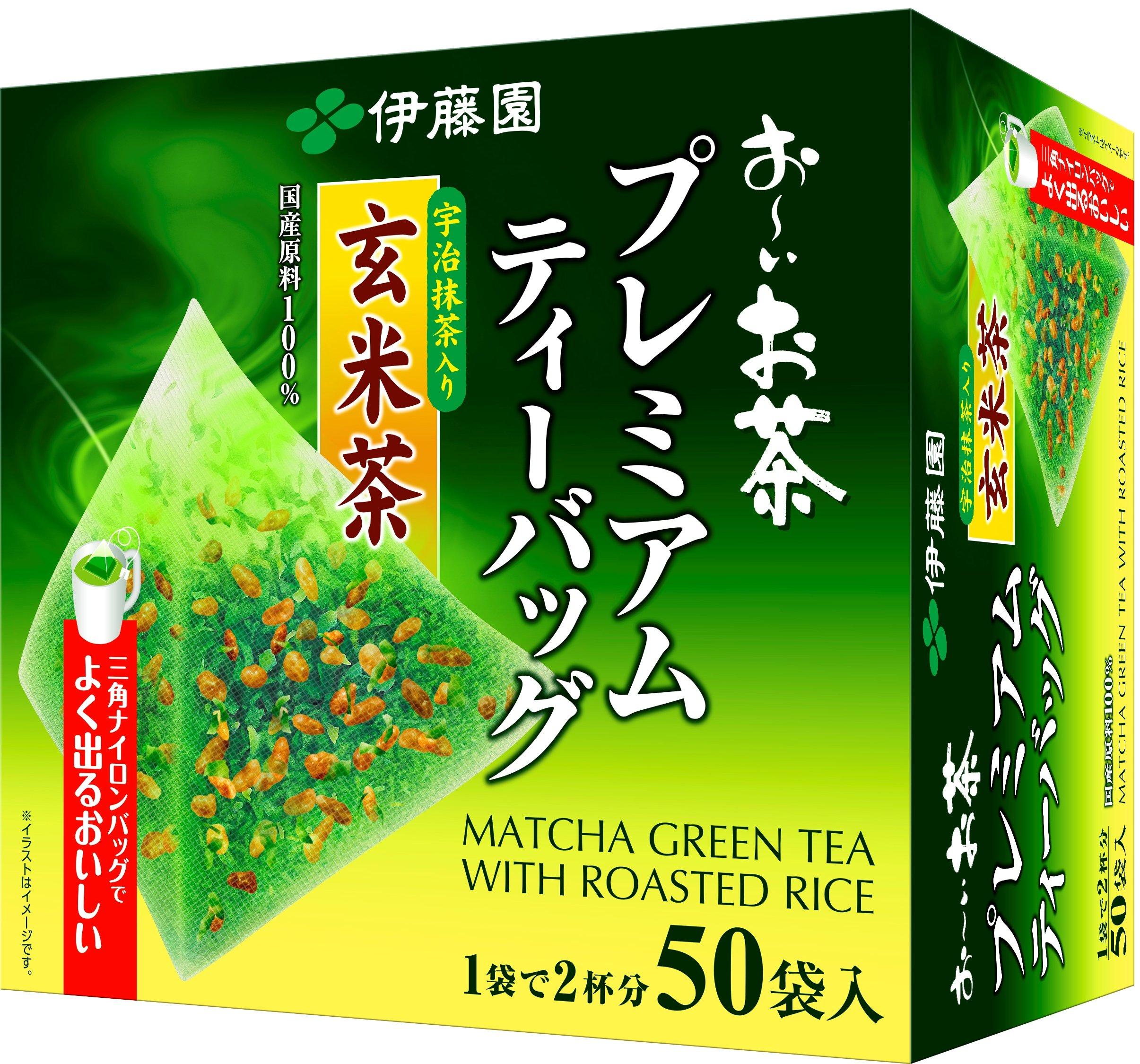 Itoen-Premium-Tee-Bag-Genmai-Tea-18g-50-peace-Green-Tea-Pack-Type