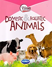Vikas Board Book Domestic & Aquatic ANIMALS