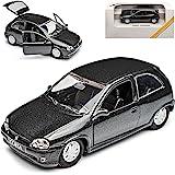Opel Corsa B Schwarz 1994 Modellauto Fertigmodell Triple 9 Collection 1 43 Spielzeug