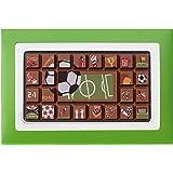 Geschenkpackung Fußball Schokoladentafel, 70g