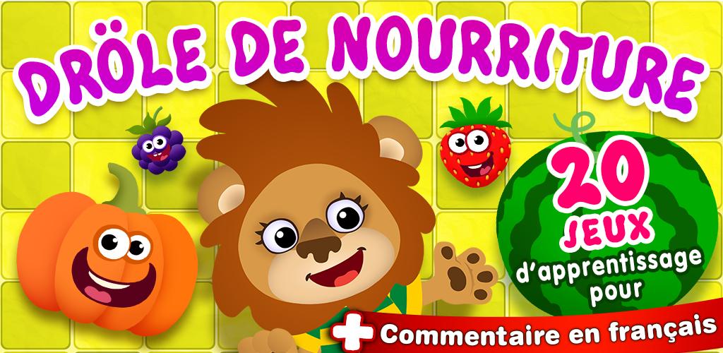 Funny Food - Bebe jeux éducatifs 3 ans! Jeu apprentissage maternelle: APPRENDRE LES COULEURS ...