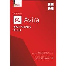 Avira Antivirus Plus Software Edition 2018 / Sicheres Virenschutzprogramm (2-Jahres-Abonnement) für 2 Geräte / Download für Windows (7, 8, 8.1, 10) und Mac [Online Code]