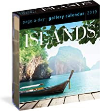 2019 Islands Gallery Page-A-Day Gallery Calendar