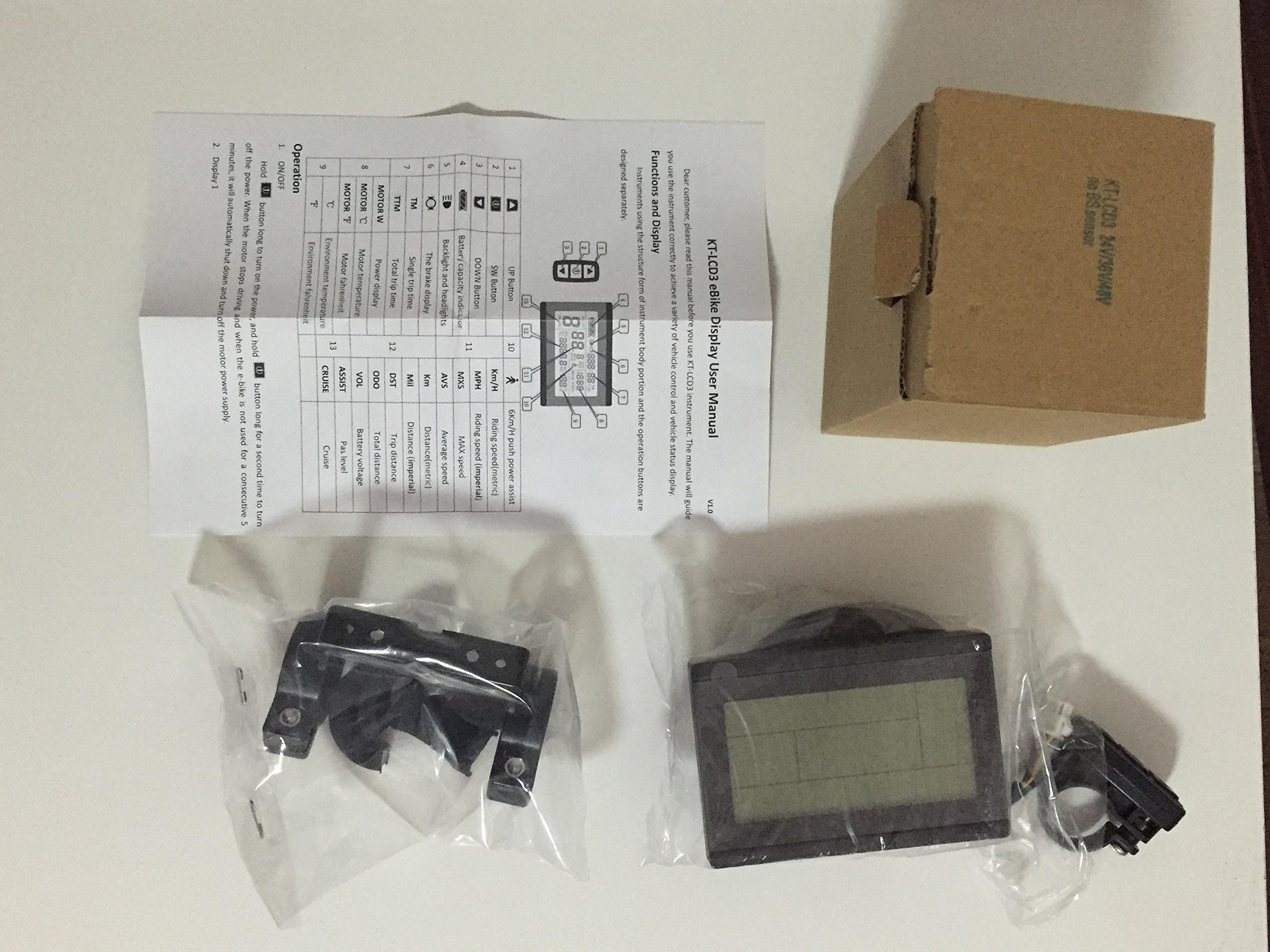 91se2U7Ns2L - NBPOWER 36V/48V 750W 25A Brushless DC Motor Controller Ebike Controller +KT-LCD3 Display One Set,used for 750W-1000W…