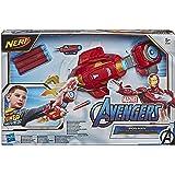 NERF Power Moves Marvel Avengers Iron Man Repulsor Blast-handschoen, NERF-dartblasterspeelgoed voor rollenspel, speelgoed voo