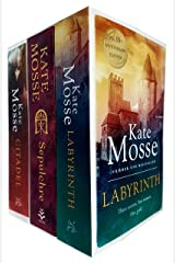Kate Mosse Trilogy 3 Books Collection Set (Sepulchre, Citadel, Labyrinth) Paperback