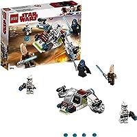 LEGO Star Wars - Pack de combate: Jedi y soldados clon (75206) Juego de construcción