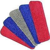 Housse de Nettoyage de Rechange,Aiglam 5PCS Vadrouille de Nettoyage pour Balai Microfibres de Rechange pour les Balais Vapeur