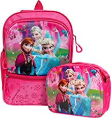 Best Shop Fabric School Bag Combo for Children, 0-5 Years(Pink)