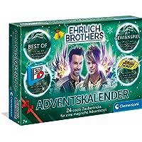 Clementoni 59180 Ehrlich Brothers Adventskalender der Magie 2021, magischer Weihnachtskalender mit 24 Zaubertricks…