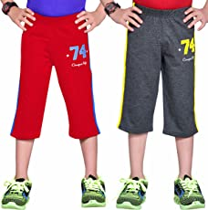 GREENWICH Boys 3/4 Pant - Pack of 2