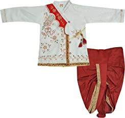 DIAMO Boys' Silk Clothing Set