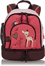 Lässig Mini Backpack Kinderrucksack Kindergartentasche, Brotdosenfach unten, Little Tree Fawn