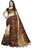 Pisara Women Khadi Silk Printed Saree, Blue Sari