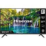HISENSE 32A5600FTUK 32-inch Full HD 1080P Smart TV with dbx-tv Sound, WiFi, USB Playback, Netflix, Freeview play (2020 series