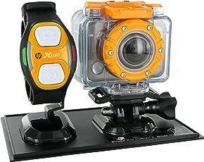 HP ac200w Aktion Kamera mit wasserdichtem Gehäuse und Fernbedienung