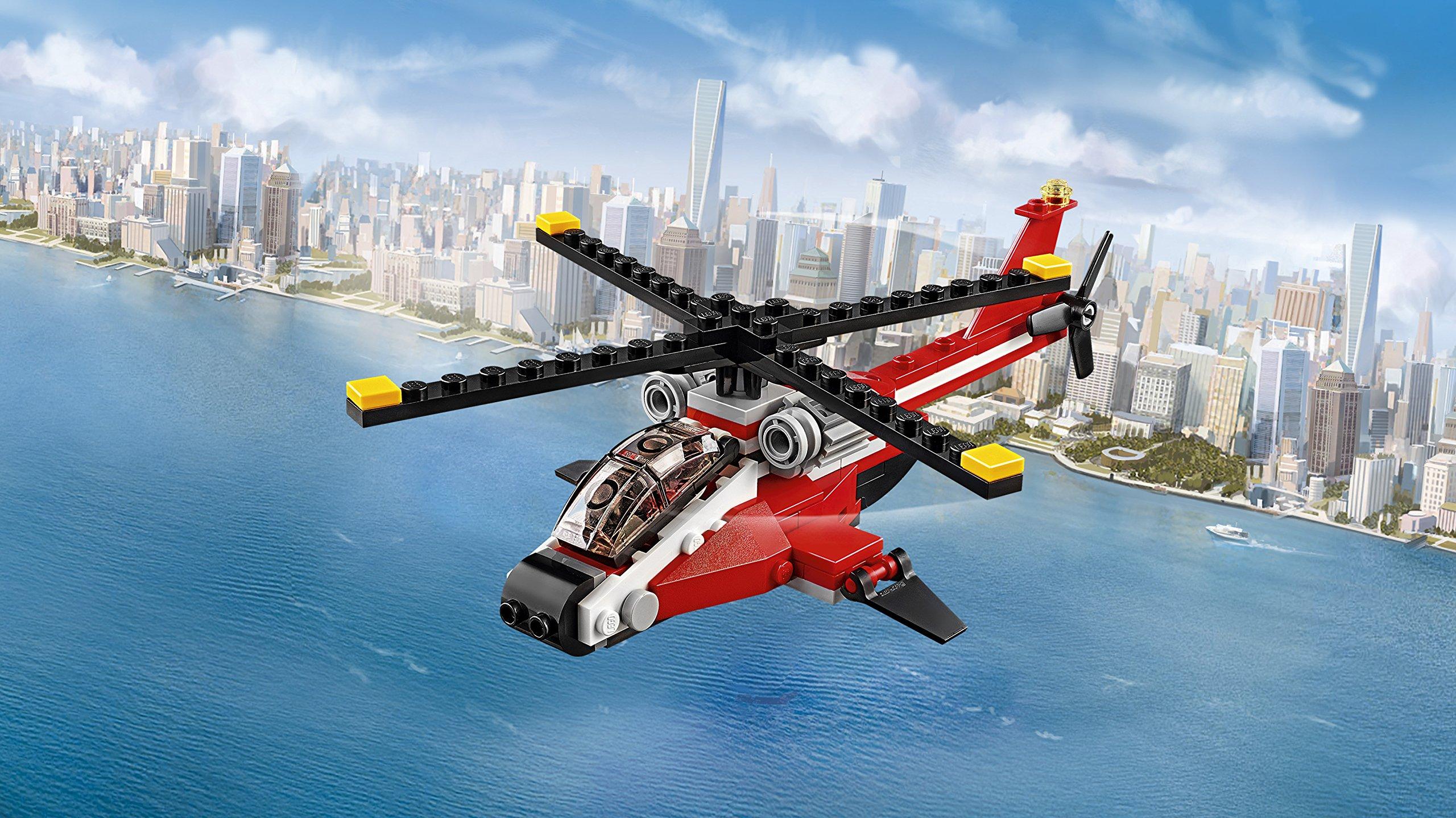 LEGO- Creator Elicottero di Soccorso Costruzioni Piccole Gioco Bambina Giocattolo, Multicolore, 31057 3 spesavip