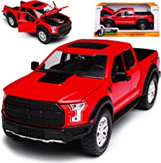 Ford F-150 Raptor Rot Pick-Up 13. Generation Ab 2014 Version 2017 1/24 Jada Modell Auto