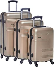 New Travel Hardside spinner luggage Set of 3 pieces with 3 digit number Lock