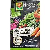 COMPO Abono ecológico natural con guano para todo tipo de plantas, 1 kg, 33 m