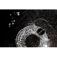 Pare-Éclaboussures Accessoires pour KitchenAid de Protection, Couvercle Antiprojection + Entonnoir | Kitchen Aid 4,8/4,7…