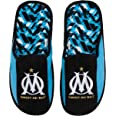 OLYMPIQUE DE MARSEILLE Chaussons Om - Collection Officielle Taille Homme