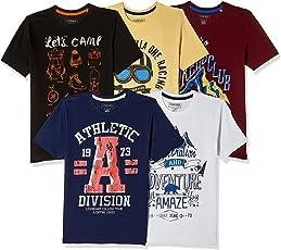 Cherokee Boys' T-Shirt (Pack of 5)