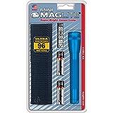 Mag-Lite M2A11H Mini Maglite AA zaklamp 14,5 cm blauw incl. 2 Mignon-batterijen en nylon holster
