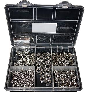 1 St/ück Sechskantmutter niedrige Form B M6 A2 DIN 439 Edelstahl VA V2A DIN-EN-ISO 4035 BiBa-Schrauben