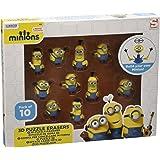 MINIONS- Despicable Me Universal Studios min3-6170, Multicolore