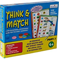 Creative Educational Aids P. Ltd. Think And Match - 1 (Multi-Color)