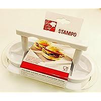 DUE ESSE SRL Stampo per 2 Mini Hamburger PRESSA Burger