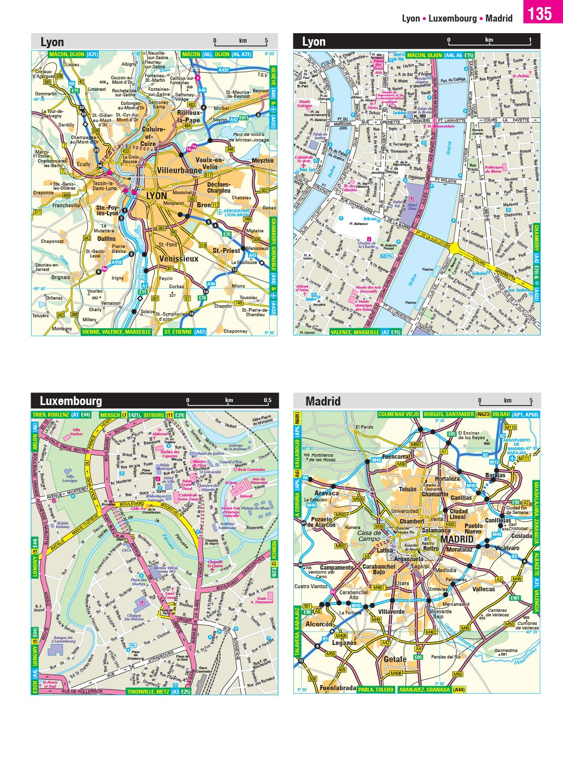 2020 Philip's Big Road Atlas Europe: (A3 Spiral binding) (Philip's Road Atlases) 2