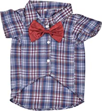 DOUGE COUTURE Shirt For Dogs (DC-T-002_30, Blue, 30)