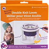 Authentic Knitting Board KB Rotating Knitting Loom, Snap in Parts, 24cm x 24cm