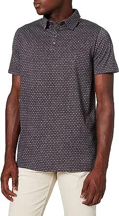 Amazon Brand - find. Men's Graphic Print Polo Shirt