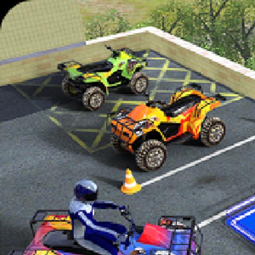ATV Quad Bike Parking Simulator Games