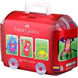 Faber-Castell Crayon Bus 64