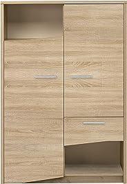 GAMI PALACE Storage Unit, Sonoma Oak, H 150 x W 103 x D 37 cm, 1J69230