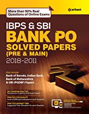 IBPS and SBI Bank PO Solved Papers Pre and Main