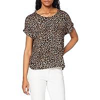 Only Onlmoster AOP S/S Top Noos Jrs T-Shirt Donna