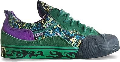 Bern Hummel Hysteric Scarpe Moda Donna Uomo Unisex Sneakers Viola Grigio Verde