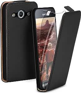 Moex Flip Case Mit Schutzfolie Für Samsung Galaxy Elektronik