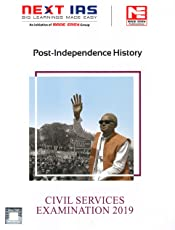 Post Independence History: Civil Services Examination 2019