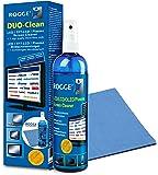 ROGGE DUO CLean Original, 250ml LCD/TFT+Plasma Reiniger+1 Prof.Microfasertuch