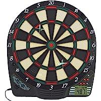 Best Sporting elektronische Dartscheibe, Dardboard mit LCD-Anzeige, 6 Dartpfeilen und Ersatzspitzen, Dartautomat